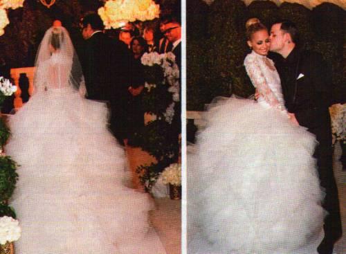 Amore Fab Nicole Richie Er Madden Wedding Dress